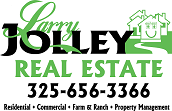 Larry Jolley Real Estate - San Angelo, Texas Homes and Ranches for Sale or Lease